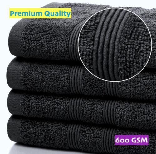 Spa Towels12 Pack or 24 PackBLACK Hairdresser Hand TowelsSalons