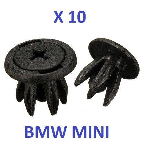 BMW mini sujetadores Clips Rueda Arco Forro Interior Cooper S Uno R50 R52 R53 R56