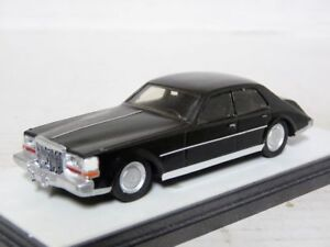 Aurore-1-43-1980-Cadillac-Seville-Resin-Handmade-Model-Car-Black