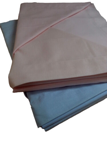 Lenzuola completo letto Matrimoniale 2 piazze tinta unita 100/% Cotone GIOIELLI