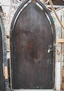 Image is loading Chapel-Church-Gothic-Door-48-x-100-inches & Chapel Church Gothic Door 48 x 100 inches   eBay