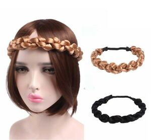 Image is loading FAT-Chunky-Twisted-Knotted-Plaited-Headband-Plait-Braided- 22d44a0ce76