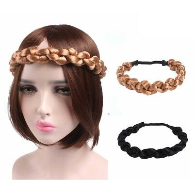 Rational Fat Chunky Twisted Knotted Plaited Headband Plait Braided Headband Fishtail Knot