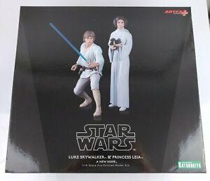 Star-Wars-A-New-Hope-Luke-Skywalker-Princess-Leia-Kotobukiya-ARTFX