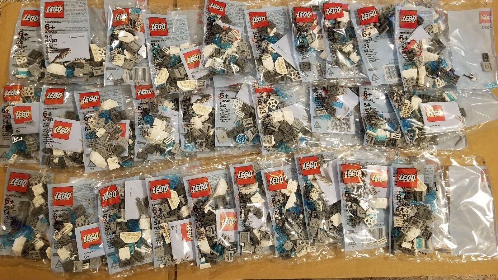 Lot of 30 Lego 40248 MiniBuild Robot Polybag