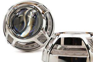Details about 2x Panamera 2 0 LED Switchback - Morimoto Profile Prism Pivot  w/ Centric Rings
