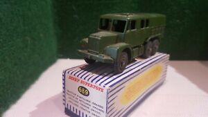 DINKY-SUPER-TOYS-Militaires-ref-689-en-boite