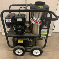 Used Shark Sfp303037 Gasdiesel 3gpm3000psi Hot Water Pressure Washer 89 Hours