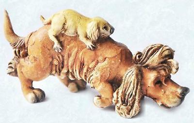 Scruff /& Puss Figurine #4258 Dog digging in Sack