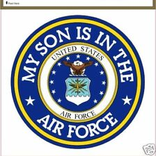 My Son Is in The Air Force Logo Military Decal for sale