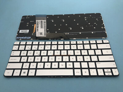 US Keyboard For HP Spectre X360 13-4000 13-4100 13-4200 13-4116DX Gray Backlit