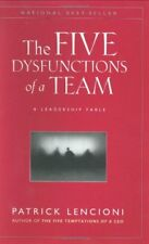 J-B Lencioni: The Five Dysfunctions of a Team : A Leadership Fable 13 by Patrick M. Lencioni (2002, Hardcover)