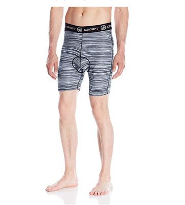 NEW CANARI Gel Brief Cyclewear Echelon Liner Men L Large Grey Gray NEW NWT