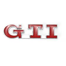 Red GTI Car Rear Trunk Badge for VW POLO GOLF MK3 MK4 MK5 GTI Emblem Sticker