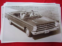 1966 Ford Fairlane Gt Convertible 11 X 17 Photo Picture