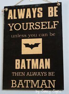 Bat-Man-Black-Superhero-Kids-Chic-Shabby-Cute-Wooden-Sign-Rustic-Home-Decor