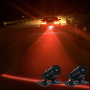 Car-Auto-Vehicle-LED-Laser-FogLight-Anti-Collision-Taillight-Brake-Warning-Lamp