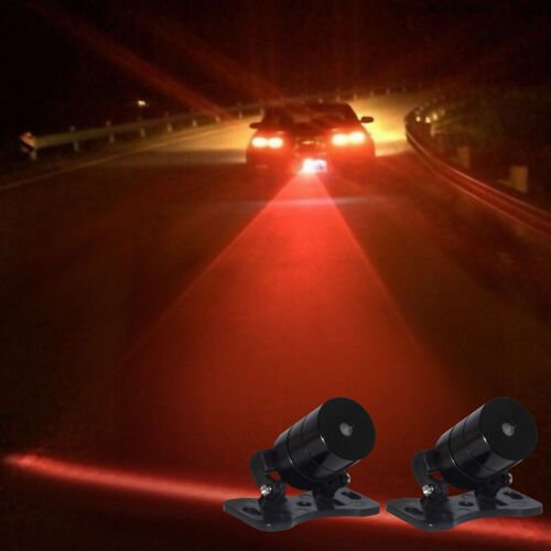 Car Auto Vehicle LED Laser FogLight Anti-Collision Taillight Brake Warning Lamp