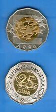 CROATIA 25 KUNA -EURO  1999 -  UNC