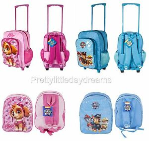 004895ee287e PAW PATROL PEPPA PIG CABIN BAG DELUXE TROLLEY BACK PACK TRAVEL ...