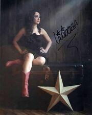 Lindi Ortega Alternative Country music auto Signed 8x10 Photo w/COA