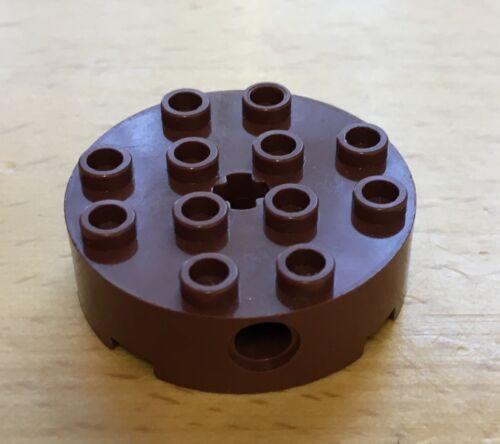 Pin viele Farben große Auswahl  23 Lego 6222 Rundstein 4x4 Kreuzloch seitl
