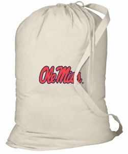 Image Is Loading Ole Miss Laundry Bags Best University Of Mississippi