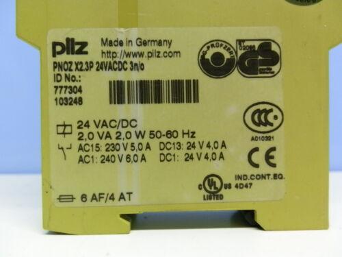 Pilz PNOZ X2.3P Not-Aus-Schaltgerät 777304