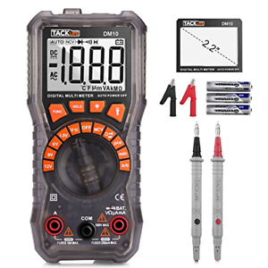 TACKLIFE-Multimeter-DM10-Digital-Electrical-Tester-Auto-Ranging-Battery-Tester