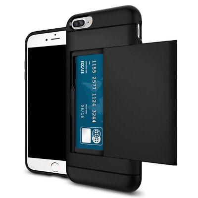 Shockproof Wallet Credit Card Pocket Holder Case Cover For iPhone 8 7 6s 6 Plus