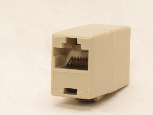 RJ45 CAT5 6 LAN Ethernet Splitter Adapter Extender Coupler Jointer Plug for PC