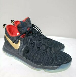 new arrival 11647 8c840 Image is loading Nike-Zoom-KD-9-IX-Gold-Medal-USA-