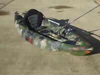 Sit On Top Fishing Kayak Galaxy Cruz 2016 Model With Free Trolley