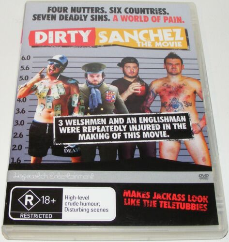 1 of 1 - DIRTY SANCHEZ THE MOVIE---(Dvd)