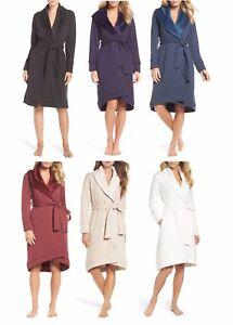 NEW-UGG-Duffield-Shawl-Collar-Robe-Women-039-s-Nightwear-Long-Robe-Bathrobe