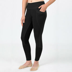 Irideon Synergy Full Seat Tights-Black-M