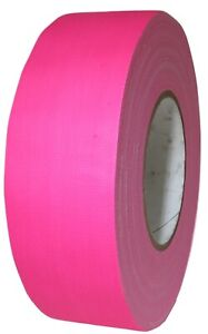 "T.R.U Superior Performance Fluorescent Duct Tape Fluorescent Orange 1/"" X 60 Yd"