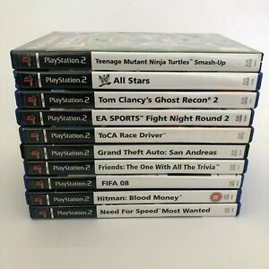 10-Playstation-2-Sony-PS2-Games-Lot-Bundle