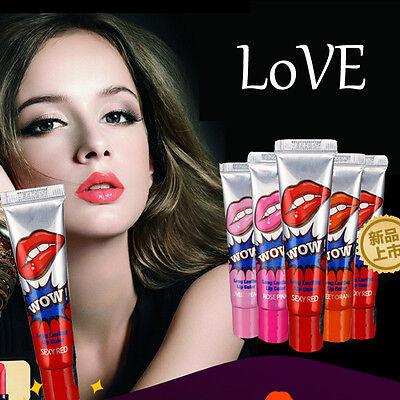1 x Waterproof Lip Gloss TATTOO Color Peel Mask Tint Pack Long Lasting