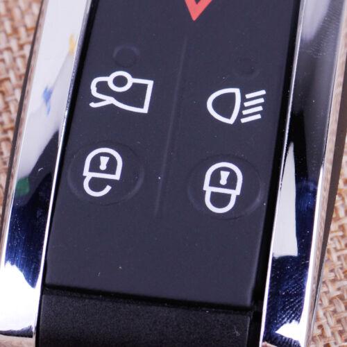 5 Tasten Fernbedienung Schlüssel Gehäuse für Jaguar X-Type S-Type XF XK XKR