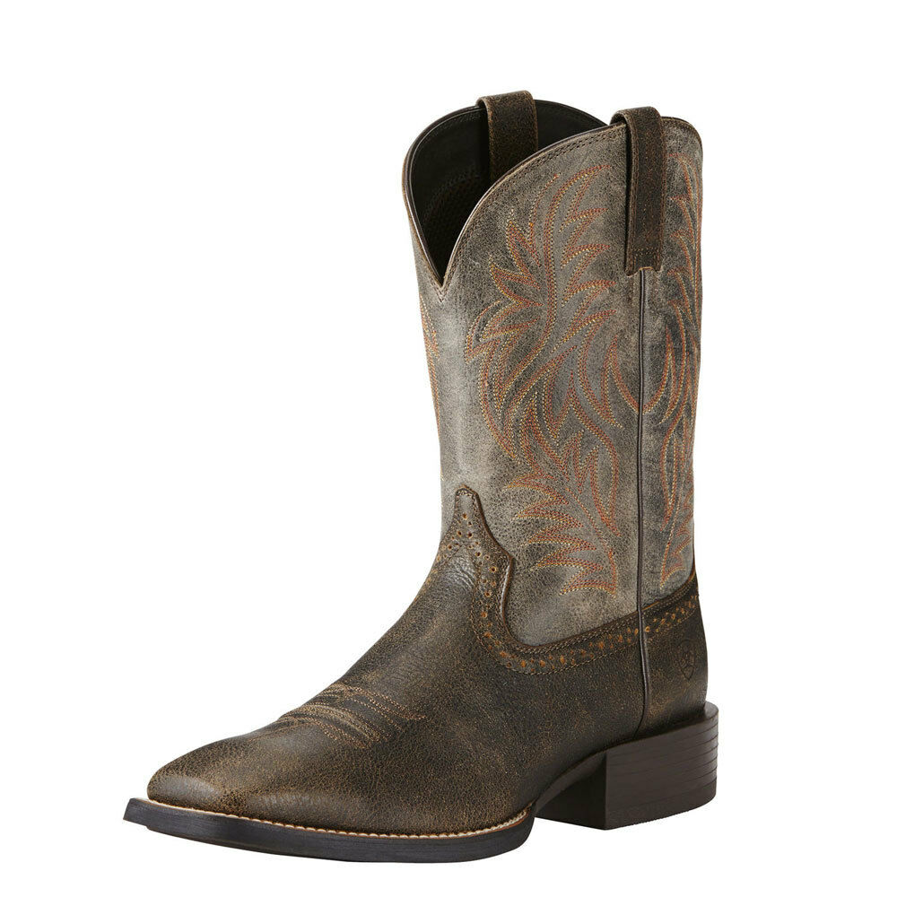 10019958 Ariat Men's Sport  Western Cowboy Boot Wide Square Toe NEW  online shop