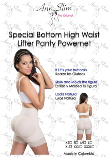 Faja Colombiana Butt lifter/'s High Waist Short Levanta Cola Ann Slim 1012 Fajate
