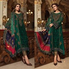 Maria B Pakistani Designer Suit Wedding Dress Chiffon Collection shalwar Kameez
