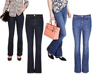 Marks /& Spencer Womens Per Una  Roma Bootcut Jeans New M/&S Mid Rise Bootleg