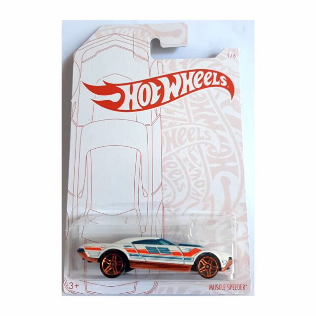 Combined Postage HOT WHEELS DIECAST Pearl /& Chrome Muscle Speeder 1//6