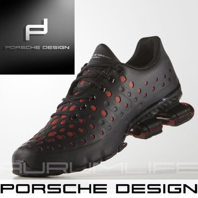 Adidas Porsche Design Sport Bounce Shoes S4 LUX II Mens Run Black Limited AQ3580