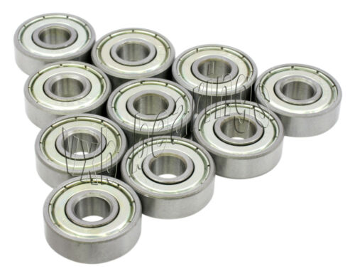 "Bearing 1607ZZ 7//16/""x 29//32/""x 5//16/"" Bearings Pack 10"
