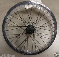 20 Bmx Bike Rear Wheel A 9 Tooth Driver 3/8 Axle &14mm Axle 9t Drive