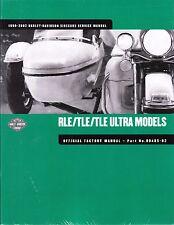1990-2002 Harley SideCar SideCars RLE TLE / Ultra Service Repair Manual 99485-02