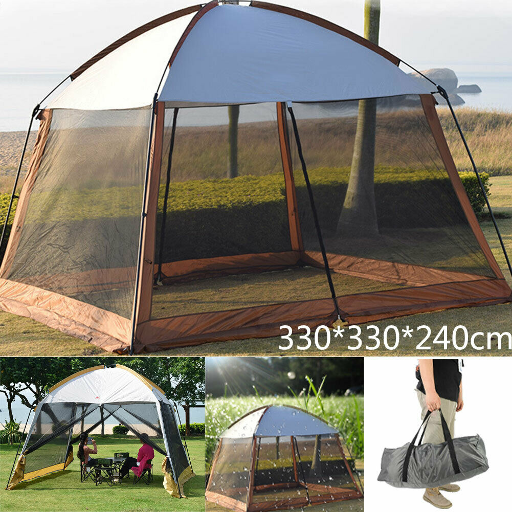 Outdoor Camping Dome Tent 8-10 Person Travel Hiking Shelter Canopy Waterproof